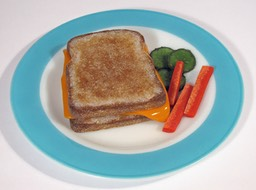 Grilled Cheese white bread page